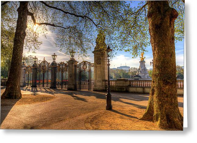 Canada Gate Green Park London Greeting Card