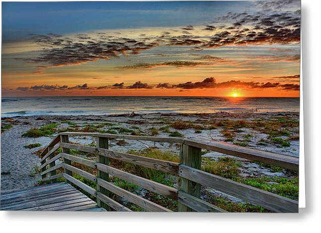Canaveral Sunrise Greeting Card