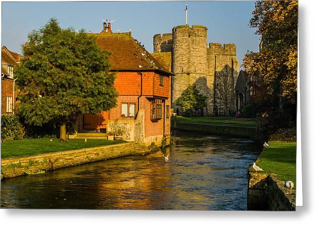 Canterbury Greeting Card by Daniel Precht