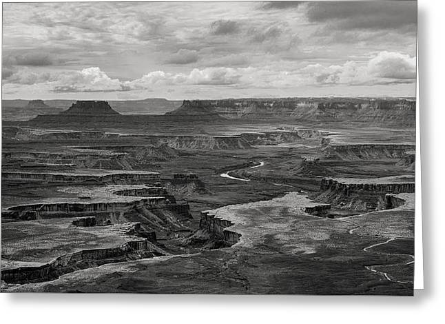 Canyonlands Greeting Card by Joseph Smith