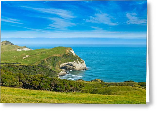 Cape Farewell Able Tasman National Park Greeting Card by Ulrich Schade