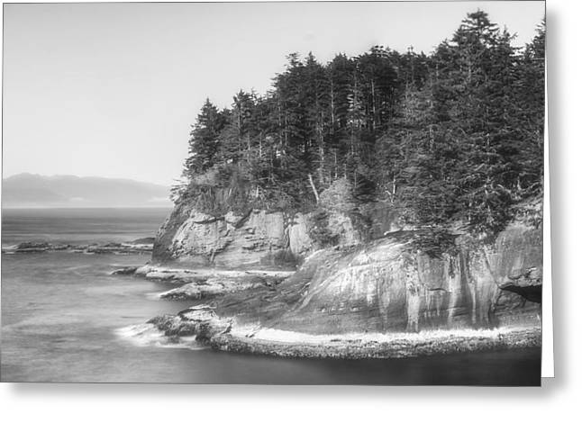 Cape Flattery Greeting Card by Chad Tracy