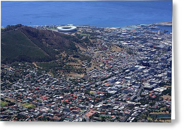 Cape Town South Africa Greeting Card by Aidan Moran
