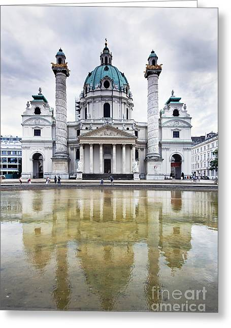 Capitol City Of Vienna Greeting Card