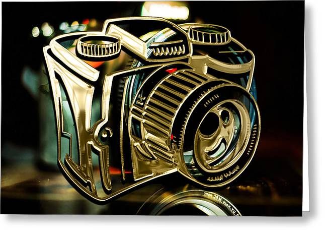 Capture Camera Collection Greeting Card by Marvin Blaine