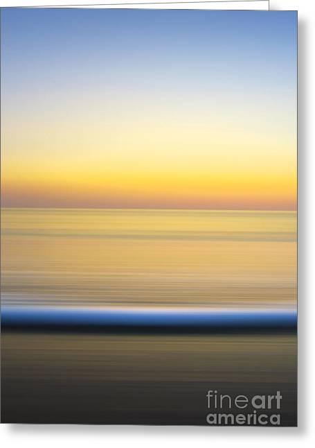 Caramel Dawn - Part 2 Of 3 Greeting Card by Sean Davey