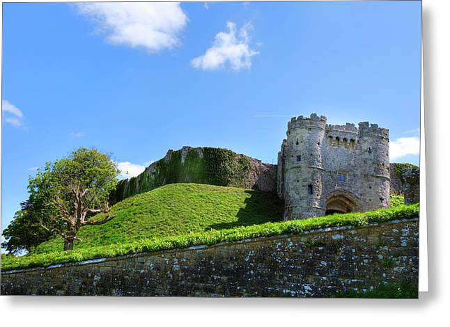 Carisbrooke Castle - Isle Of Wight Greeting Card