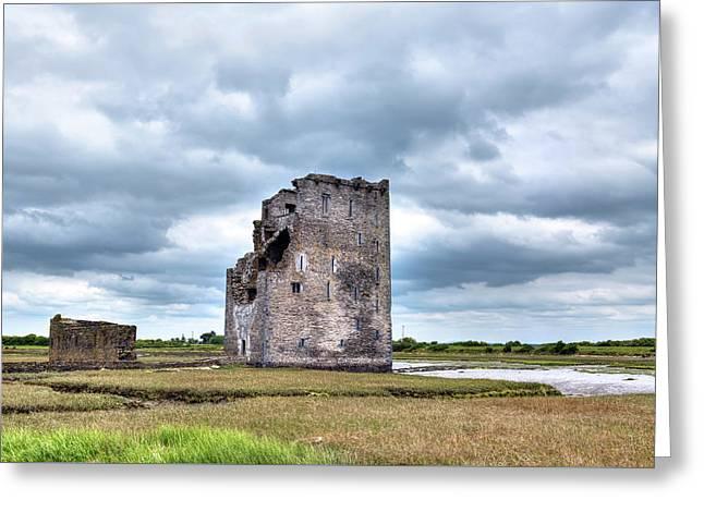 Carrigafoyle Castle - Ireland Greeting Card by Joana Kruse