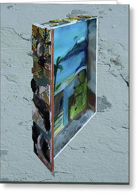 Cassetto Greeting Card by Daniele Baiamonte
