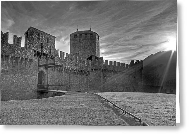 Castle Greeting Card by Joana Kruse