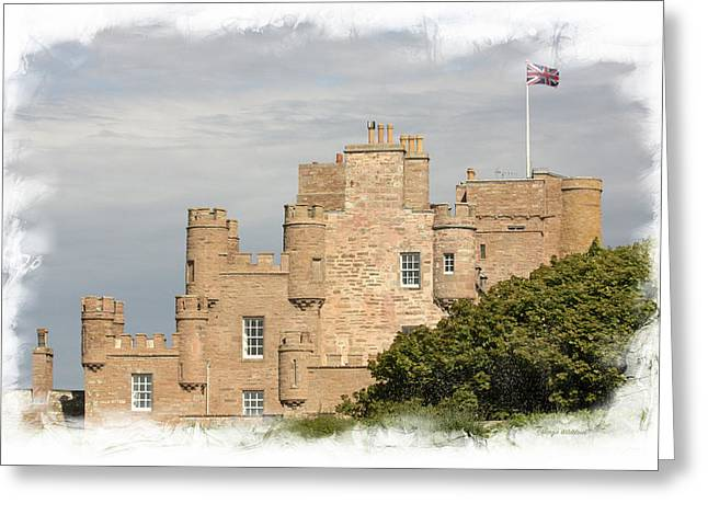 Castle Of Mey Greeting Card by Margie Wildblood