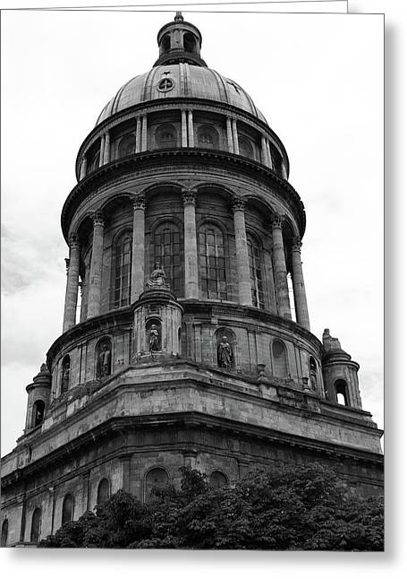 Cathedral Basilica Notre Dame, France Greeting Card