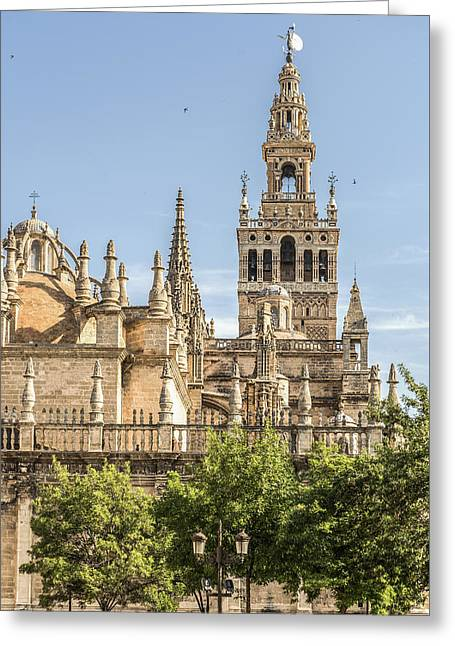 Cathedral Of Seville - Seville Spain Greeting Card