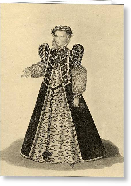 Catherine De Medici, 1519-1589. Born Greeting Card by Vintage Design Pics