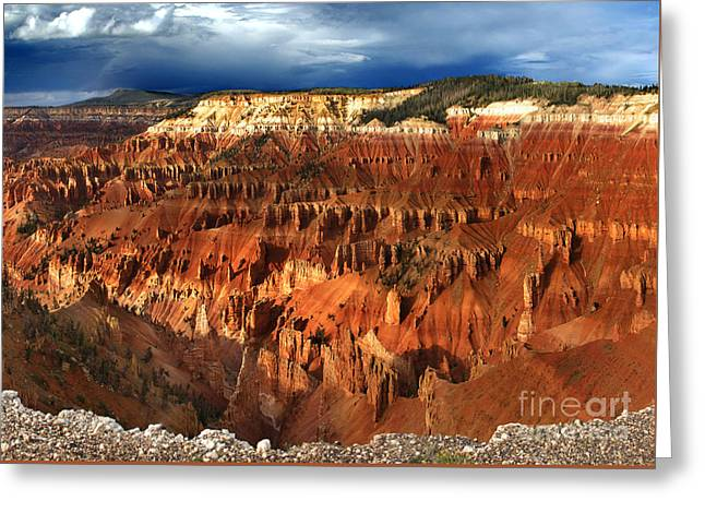 Cedar Breaks Greeting Card
