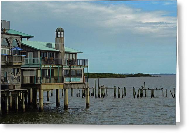 Cedar Key Florida Greeting Card