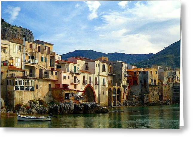 Cefalu' Greeting Card