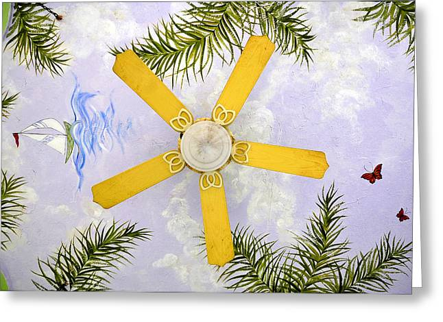 Ceiling Art Greeting Card by David Lee Thompson