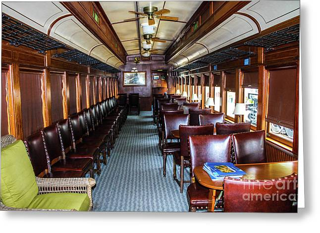 Central Jersey Passenger Car  Greeting Card
