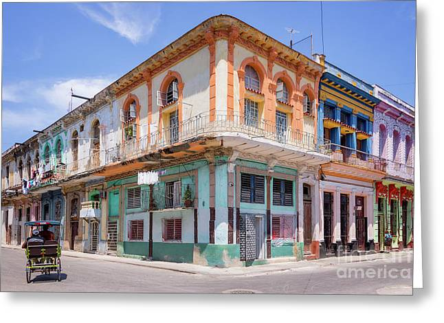 Cuban Architecture Greeting Card