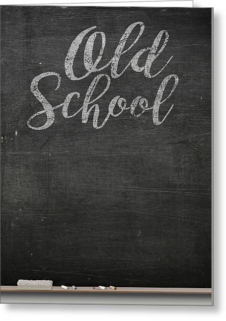 Chalk Board Greeting Card