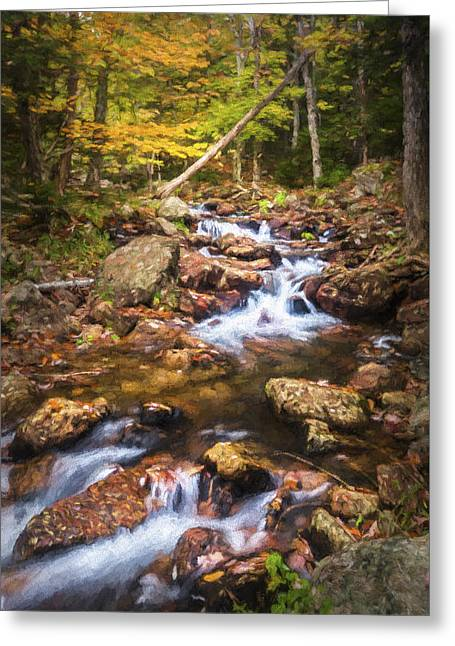 Changes In The Water Greeting Card by Jon Glaser