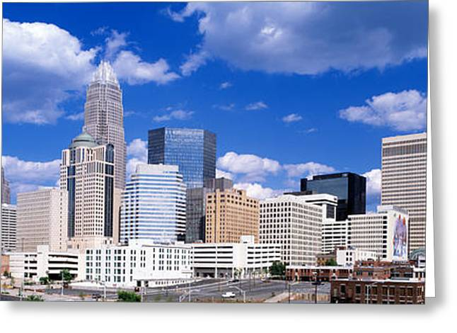 Charlotte, North Carolina, Usa Greeting Card