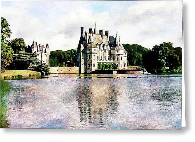 Greeting Card featuring the photograph Chateau De La Bretesche, Missillac, France by Joseph Hendrix