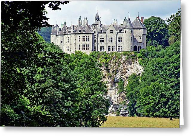 Greeting Card featuring the photograph Chateau De Walzin - Belgium by Joseph Hendrix