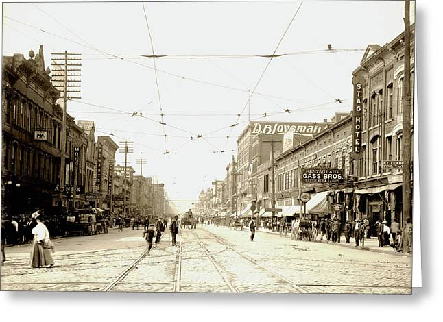 Chattanooga Tennessee 1907 Greeting Card