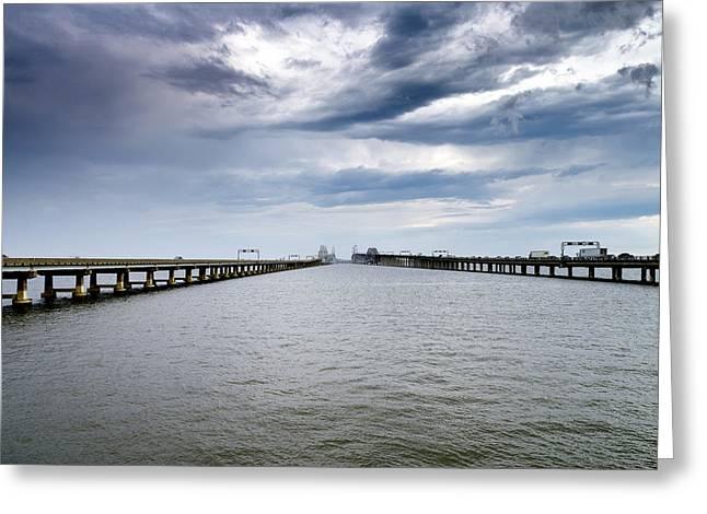 Chesapeake Bay Bridge Maryland Greeting Card