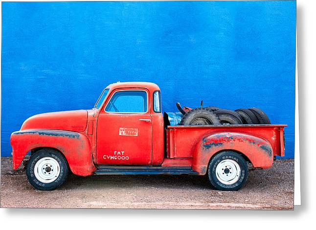 Chevy Classic Greeting Card by Todd Klassy