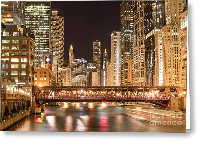 Chicago Greeting Card by Juli Scalzi