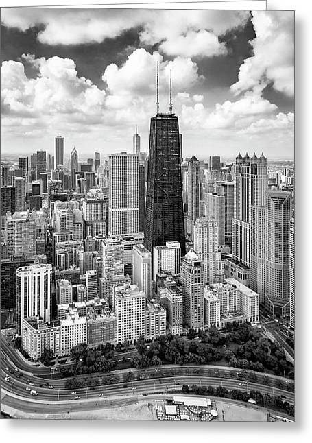 Chicago's Gold Coast Greeting Card by Adam Romanowicz