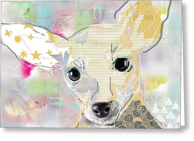 Chihuahua Collage Greeting Card