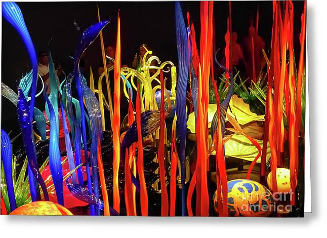Chihuly Garden And Glass Exhibition Greeting Card