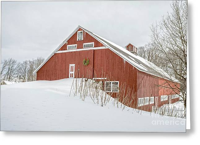 Christmas Barn Greeting Card