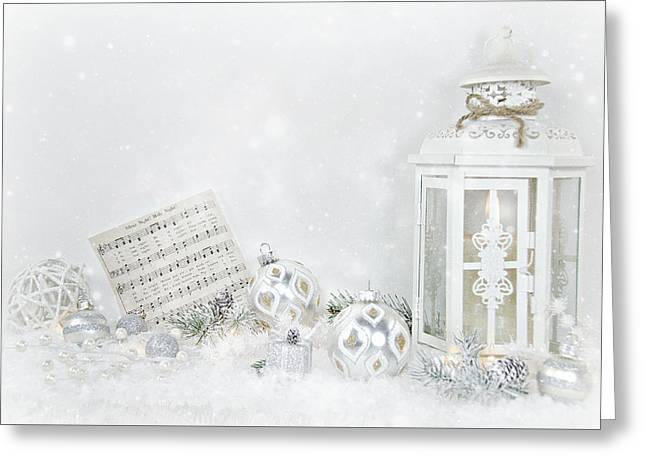 Christmas Lantern Greeting Card