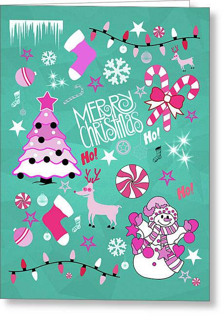 Christmas Greeting Card by Mark Ashkenazi