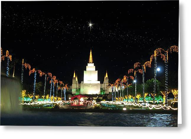 Christmas On Temple Hill Greeting Card