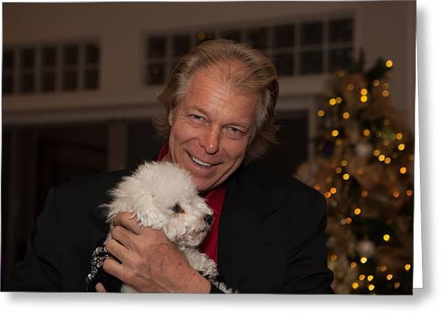 Christmasparty Greeting Card by Dennis Eckel