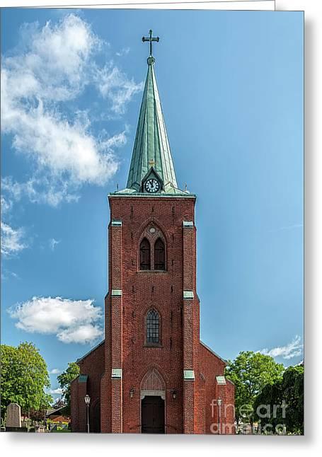 Church In Rya Greeting Card