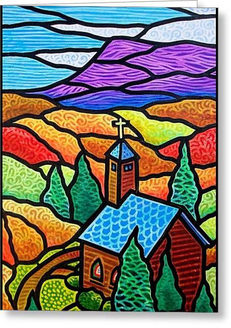 Church In The Wildwood Greeting Card