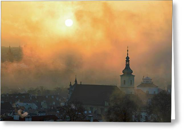Church Of Our Lady Victorious, Prague, Czech Republic. Greeting Card