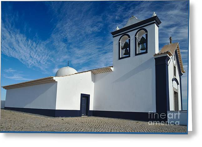 Church Of St. Anthony In Portugal Greeting Card by Angelo DeVal