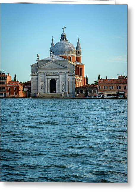 Church Of The Santissimo Redentore In Venice Greeting Card by Libor Vrska