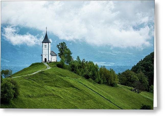 The Church Of Saints Primus And Felician Greeting Card