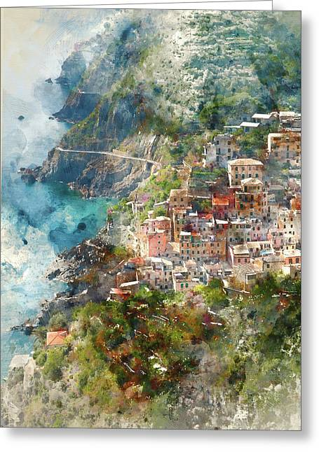 Cinque Terre In Italy Greeting Card