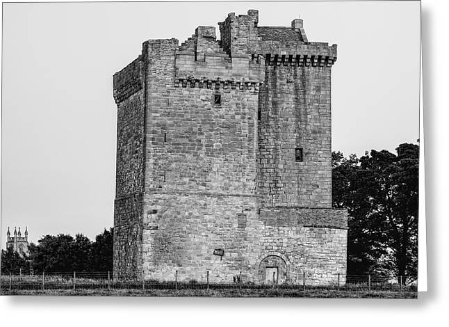 Clackmannan Tower Greeting Card