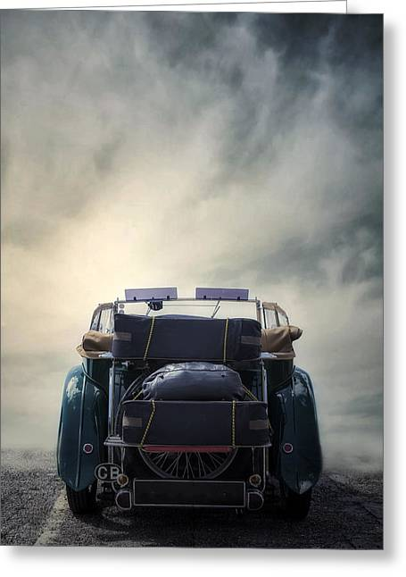 Classic Car Greeting Card by Joana Kruse